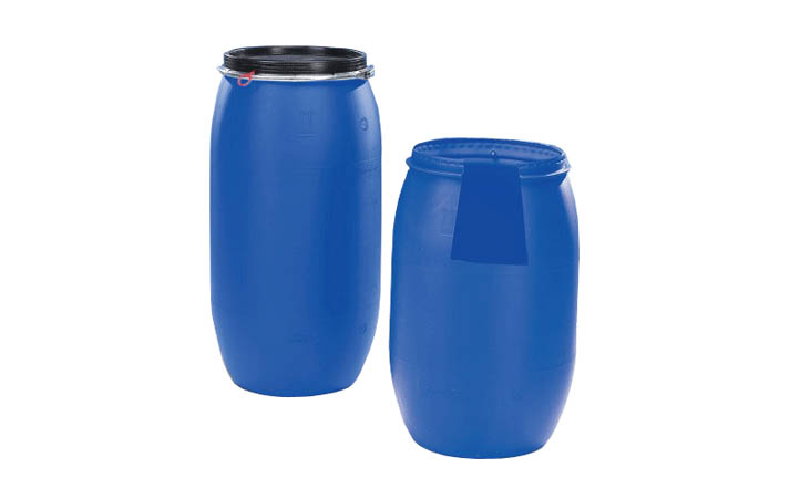 开口塑料桶 - 单层hdpe